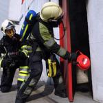 DSPA-5 slår ut brand med massiv rökutveckling