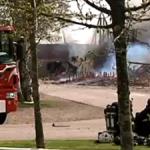 Steglinge Gård saknade brandväggar