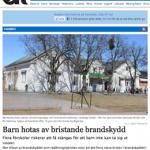 Vansbro kommun: Barn hotas av bristande brandskydd