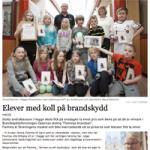 Brandskyddsföreningen Dalarna: Andraklassare i Hagge skola fick Flammy-pris