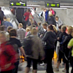 Utrymning tunnelbana - Foto: Briab
