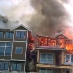 Husbränder vid Paple Ridge B.C. kanada - Foto: Broesky - Brandskydd