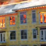 Montrose Houston brand 2014 orsakad av svetsare